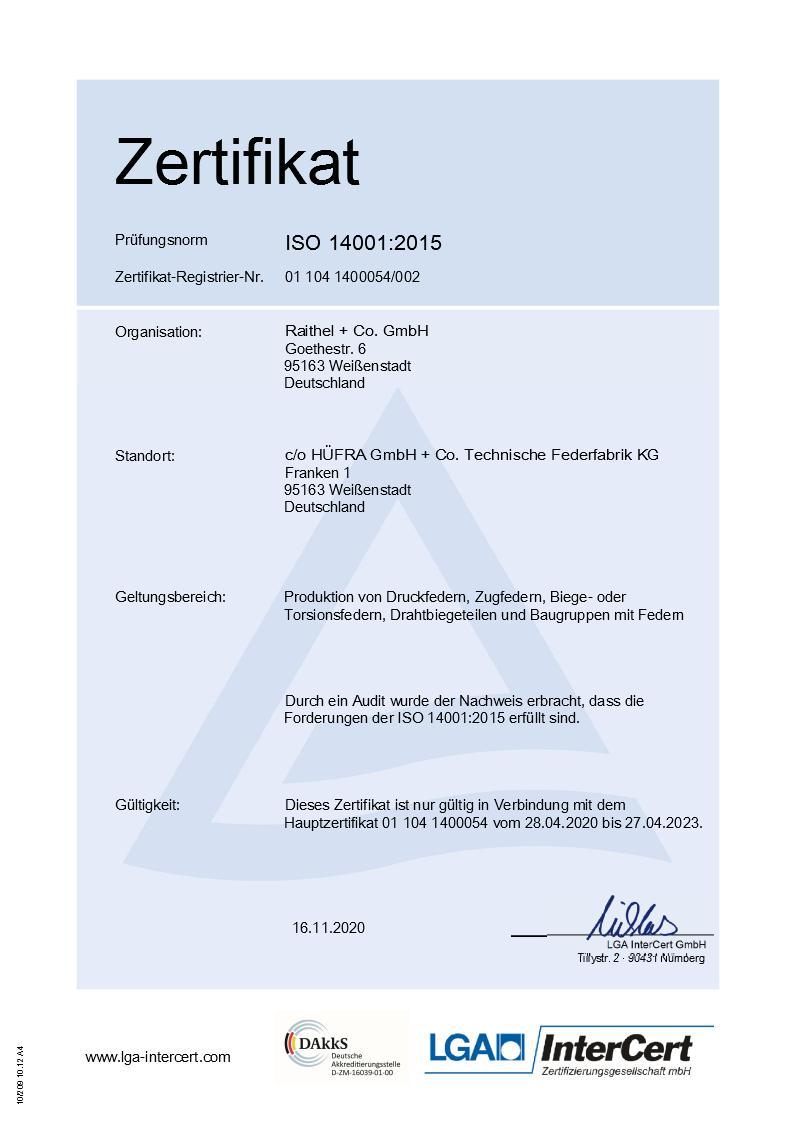 DIN EN ISO 14001